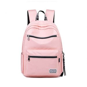Girl's pink school bag