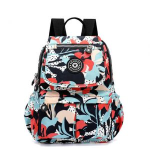 Girl's Waterproof Print Style School Backpack