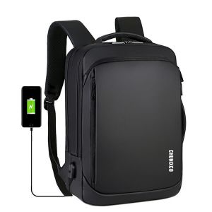 Men's casual waterproof laptop backpack