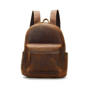 Men's Vintage Crazy Horse Backpack