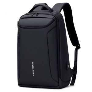 Men's Waterproof Oxford USB Charging Backpack