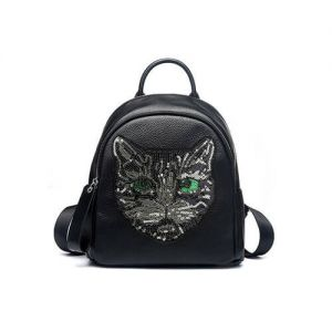 Women Cat Head Style Backpack