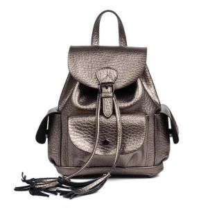 Women Fashion Genuine Leather Backpack
